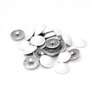 White Domed Caps