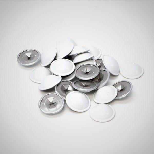 white dome caps