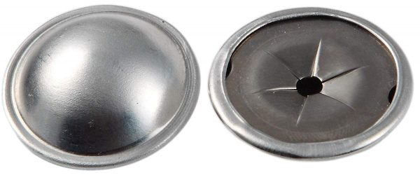 Alumininum Dome caps